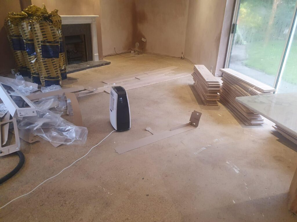Preparing the floor by affordable flooring solutions