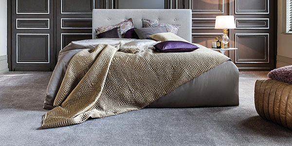 Luxurious carpet in a bed room, a contemporary design image by Affordable Flooring Solutions in Tunbridge Wells