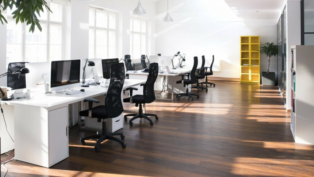 Office Floors from Affordable Flooring Solutions